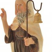 Immagine di 'Statua di Sant'Antonio abate in resina colorata - altezza 21 cm'