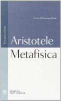 Metafisica - Aristotele
