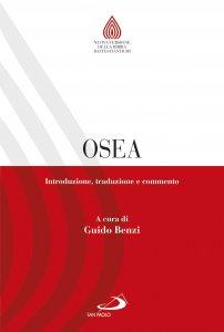 Copertina di 'Osea. Introduzione, traduzione e commento'