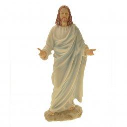 Copertina di 'Statua di Gesù in resina colorata - 30cm'