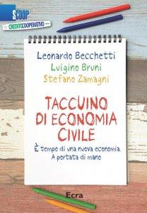 Copertina di 'Taccuino di economia civile'