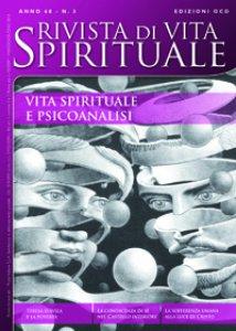 Copertina di 'Rivista di vita spirituale n. 3/2014. Vita spirituale e psicoanalisi'
