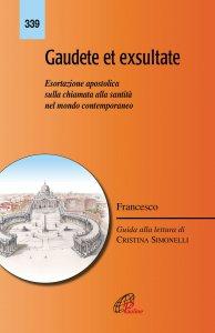 Copertina di 'Gaudete et Exsultate'
