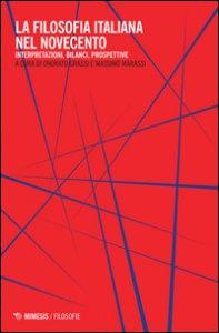 Copertina di 'La filosofia italiana nel Novecento'