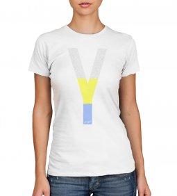 Copertina di 'T-shirt Yeshua policroma con scritte - taglia L - donna'