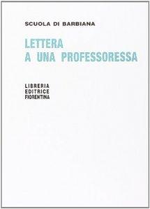 Copertina di 'Lettera a una professoressa'