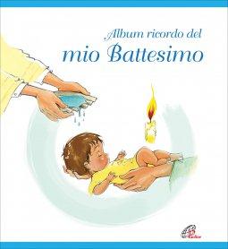 Copertina di 'Album ricordo del mio battesimo - Azzurro'