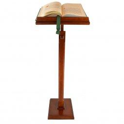 Copertina di 'Leggio a colonna con stelo in legno di sezione quadrata - altezza 117 cm'