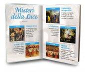 Immagine di 'Libretto con Rosario Santuario di Santa Maria delle Grazie - italiano'