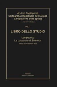 Copertina di 'Cartografia intellettuale dell'Europa. La migrazione dello spirito'