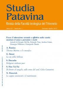 Studia Patavina 2013/1