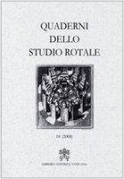 Quaderni dello Studio Rotale - Tribunale della Rota Romana