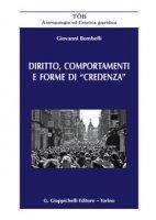 Diritto, comportamenti e forme di «credenza» - Bombelli Giovanni