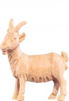 Capra R.K. - Demetz - Deur - Statua in legno dipinta a mano. Altezza pari a 15 cm.