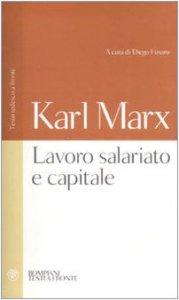 Copertina di 'Lavoro salariato e capitale. Testo tedesco a fronte'