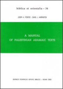 Copertina di 'Manual of palestinian aramaic texts (A)'