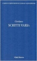 Scritti vari - Girolamo (san)