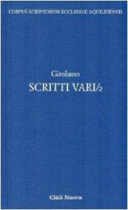 Copertina di 'Scritti vari'