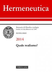 Copertina di 'Hermeneutica. 2014: Quale realismo?.'