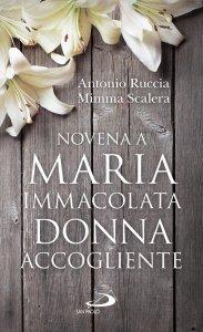 Copertina di 'Novena a Maria Immacolata Donna accogliente'