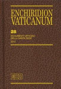 Copertina di 'Enchiridion Vaticanum. 28'