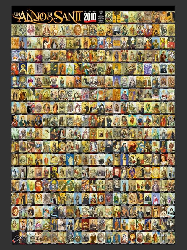 Calendario Santi Ottobre 2020.Calendario Un Anno Di Santi Calendario 2010 Libro Ab C