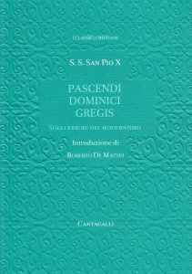 Copertina di 'Pascendi Dominici Gregis. Sugli errori del modernismo'