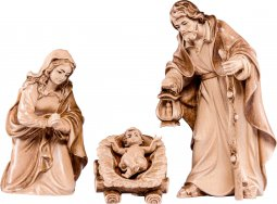 Copertina di 'Sacra famiglia H.K. - Demetz - Deur - Statua in legno dipinta a mano. Altezza pari a 11 cm.'