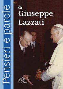 Copertina di 'Pensieri e parole di Giuseppe Lazzati'
