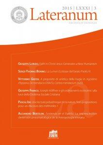 Lateranum 2015 - n. 3