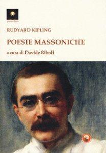 Copertina di 'Poesie massoniche. Testo inglese a fronte'