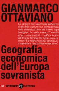 Copertina di 'Geografia economica dell'Europa sovranista'