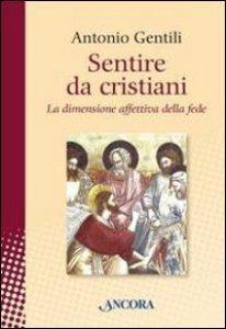 Copertina di 'Sentire da cristiani'