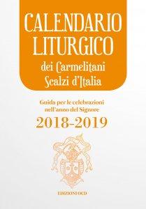 Copertina di 'Calendario liturgico dei Carmelitani Scalzi d'Italia'