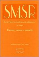 Studi e materiali di storia delle religioni (2012)