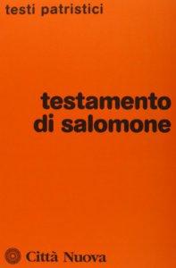 Copertina di 'Testamento di Salomone'