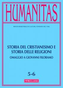Copertina di 'Humanitas. 5-6/2017: Storia del cristianesimo e storia delle religioni. Omaggio a Giovanni Filoramo.'