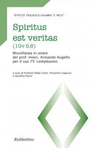 Copertina di 'Spiritus est veritas (1Gv 5,6)'