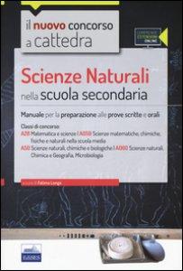 Copertina di 'CC4/28 Scienze naturali nella scuola secondaria. Per la classe A28 (A059) e A50 (A060). Con espansione online'