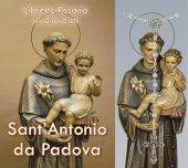 Libretto Rosario con immagine Sant'Antonio di Padova e rosario