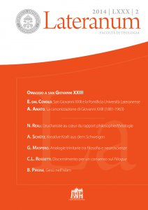 Copertina di 'COSCIENZA E RELAZIONE: ANALOGIE TRINITARIE TRA FILOSOFIA E NEUROSCIENZE'