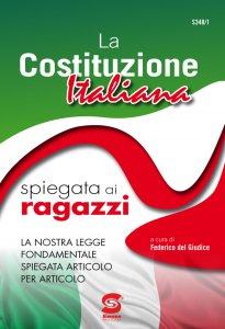 Copertina di 'La Costituzione Italiana spiegata ai ragazzi'
