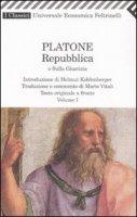 Repubblica o sulla giustizia. Testo originale a fronte - Platone