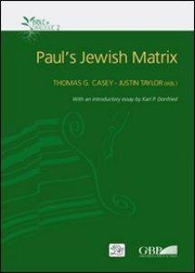 Copertina di 'Paul's Jewish matrix'