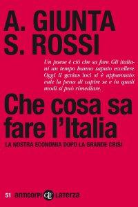 Copertina di 'Che cosa sa fare l'Italia'