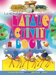 Copertina di 'Storia del Natale activity book. (La)'