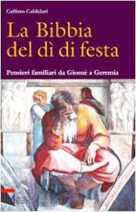 Copertina di 'La Bibbia del dì di festa / Pensieri familiari da Giosuè a Geremia'