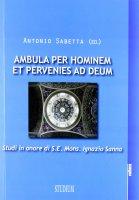 Ambula per hominem  et pervenies ad Deum - Antonio Sabetta