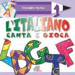 Copertina di 'L'italiano canta e gioca 1'