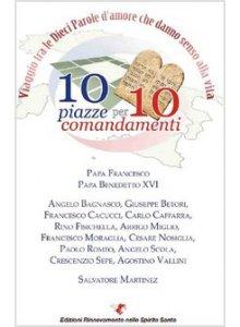Copertina di '10 piazze per 10 comandamenti'